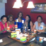Tea-time with the ladies in T&T